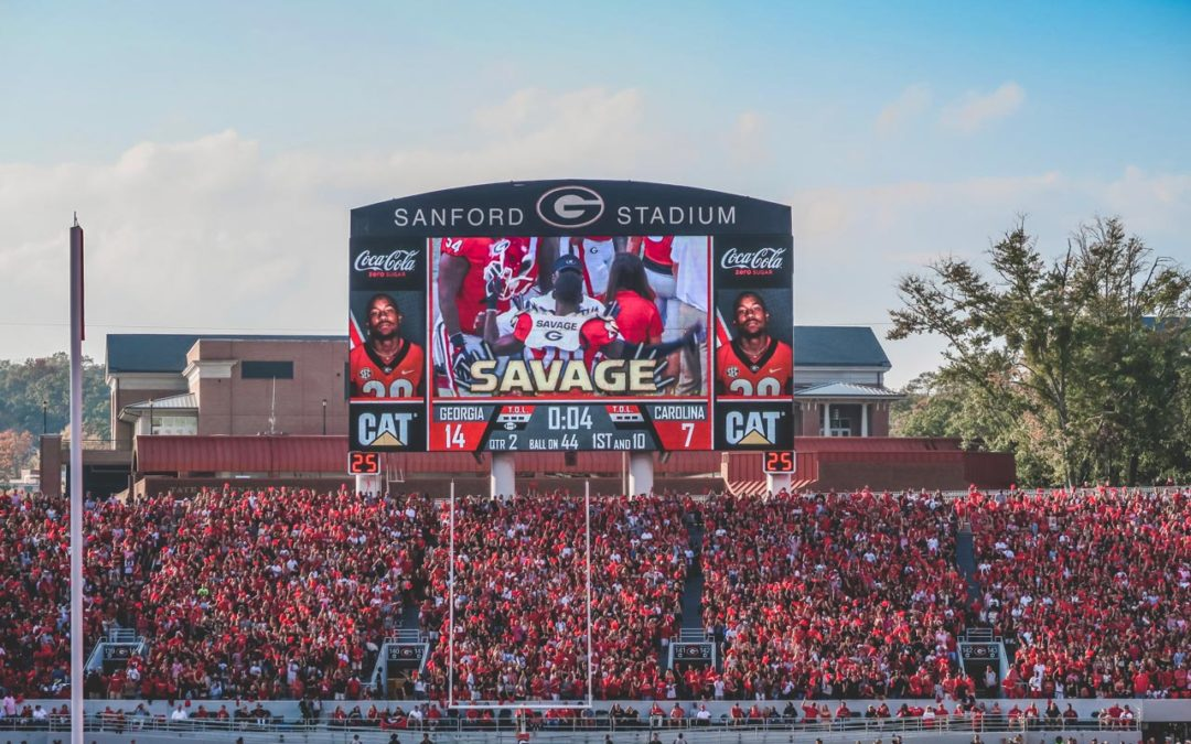 Creating a 2018 UGA Hype Video from my Georgia Football Video Archives